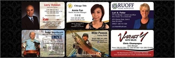 Elite Laminated Business Cards that stop people in their tracks!