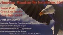 American Mountain Tile Installation, LLC Robert Covin